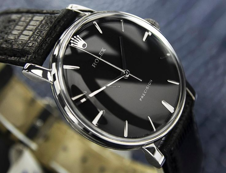 Rolex PRECISION watch for a vintage look Make it special with a custom color str...