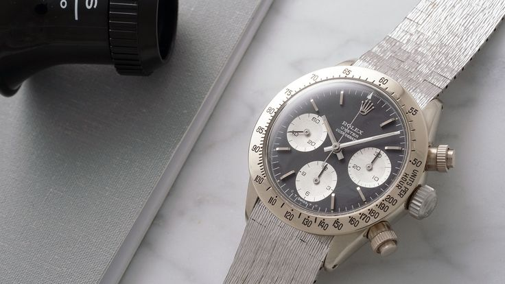 [Rolex] Unicorn White Gold Rolex Daytona Ref. 6265 To Be Auctioned By Phillips I...