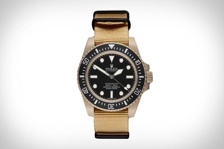 SFI Desert Issue Rolex Submariner Watch | Uncrate