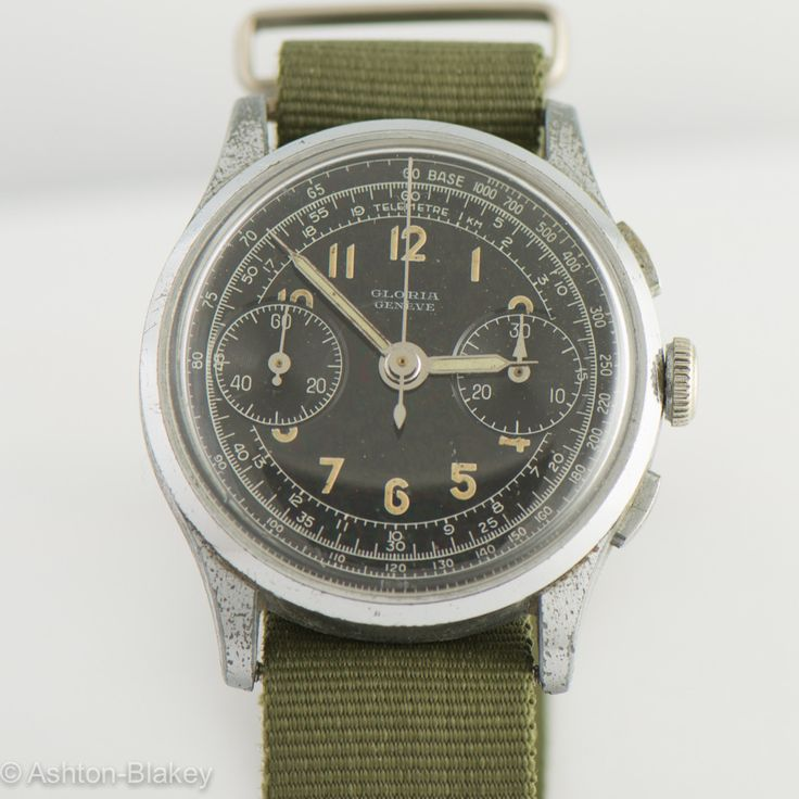 SWISS military style Vintage Watch