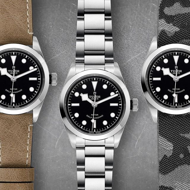 TUDOR Black Bay 36: 1 watch, 3 moods ➡️
