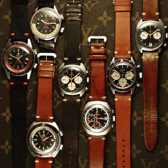 The Enicar Watch Company was founded 1913 and were the first to use Radium in 19...