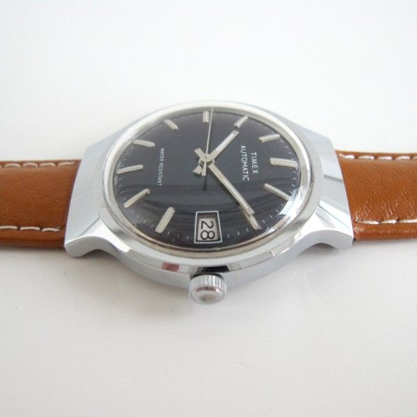 Timex Viscount Calendar 1978 timexman.nl - sub $99 vintage watches - shipping wo...