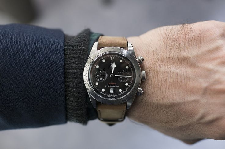 Breaking News: Tudor Launches The Black Bay Chronograph Ref. 79350 With Caliber MT5813, A Movement Designed In Collaboration With Breitling - HODINKEE