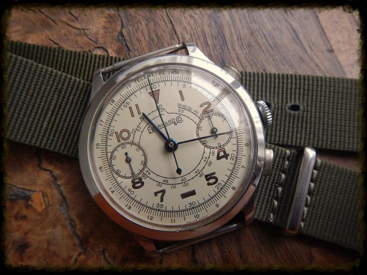 Vintage Eberhard Chronograph