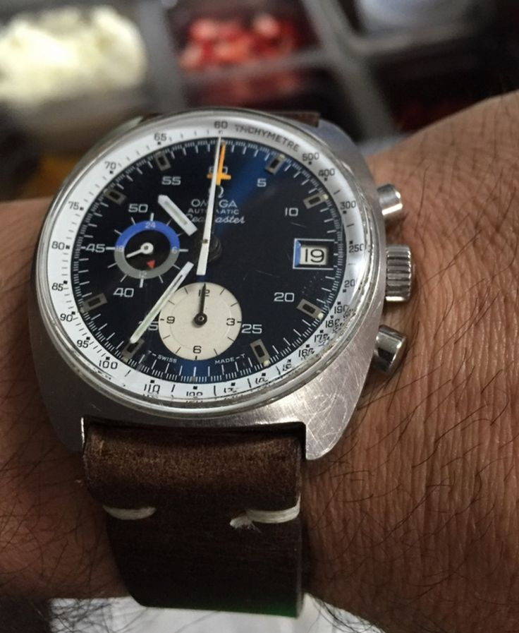 Vintage OMEGA Seamaster Chronograph In Stainless Steel Circa 1970s