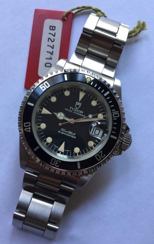 Vintage Tudor Rolex Submariner Date ref. 79190