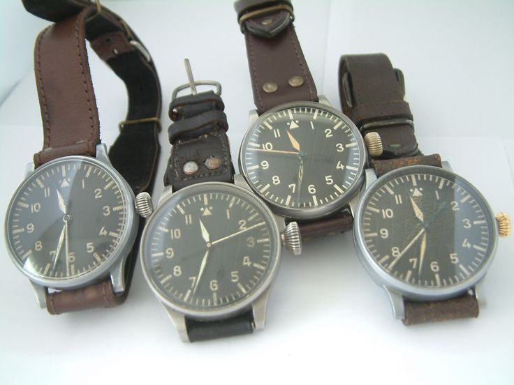 Vintage pilot watches