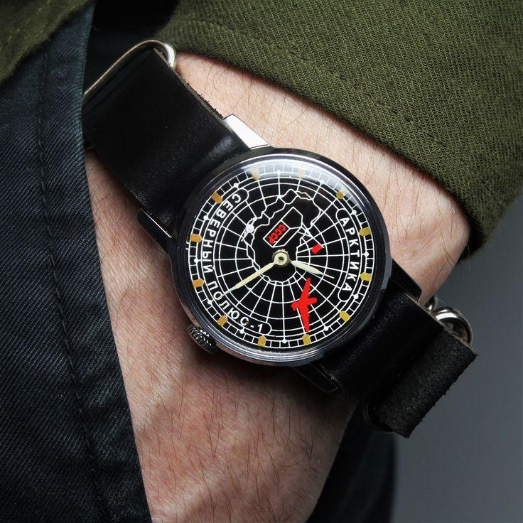 Vintage watch, soviet watch,