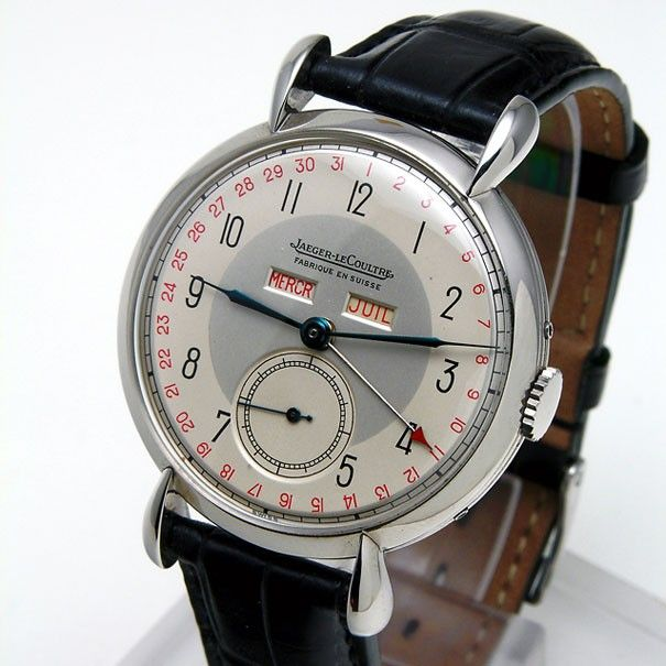 __Classic, just if you can't chose which watch to wear! Vintage Jaeger- LeCo...