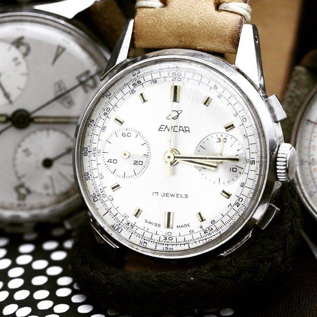 #enicar #chronograph #17jewels #vintage #forsale #steinermaastricht #maastricht