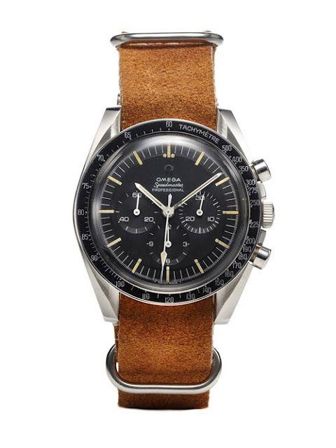 omega's moon landing watch