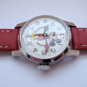timexman.nl - Bradley Mickey Mouse Pink Face 1975-1978. Een betaalbaar vintage h...