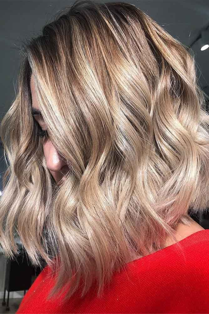 Hair Color 2017 2018 Cute Layered Short Dirty Blonde Hair