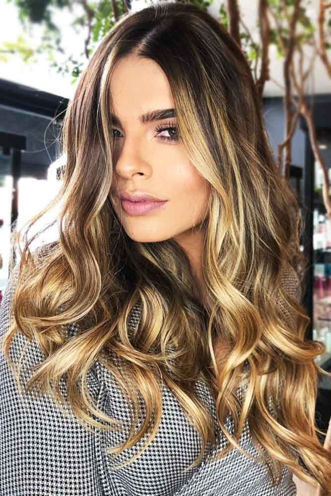 Hair Color 2017 2018 Sun Kissed Golden Face Framing Highlights
