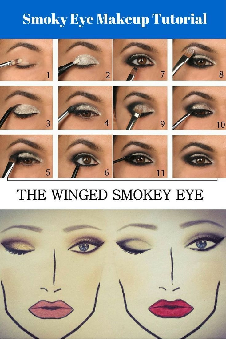 Check out this amazing Smoky Eye Makeup Tutorial for Beginners!! Looking for bes...