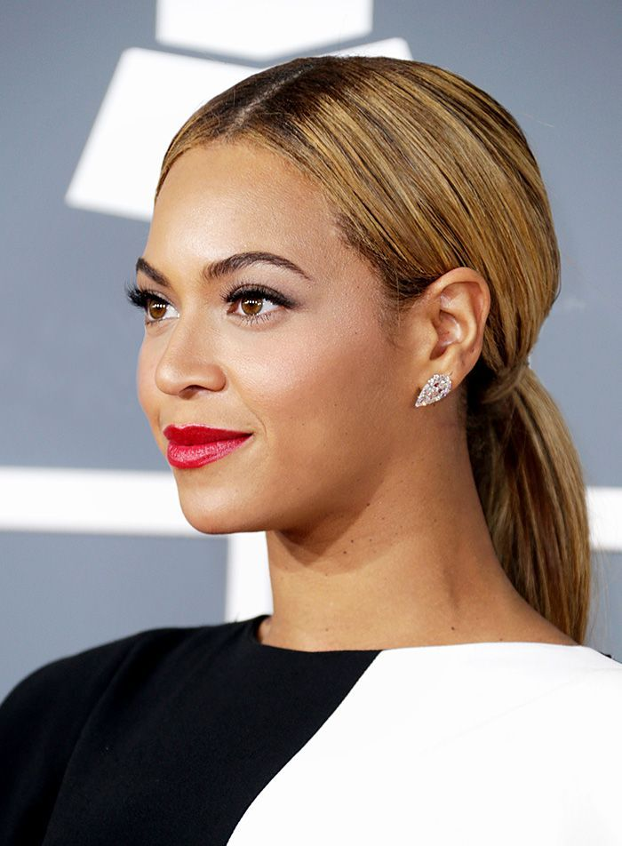 Check out photos of Beyoncé's butt-length braid inside. It's really rea...