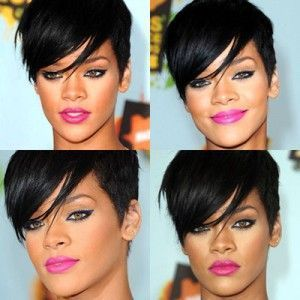 Rihanna makeup tutorial (video)