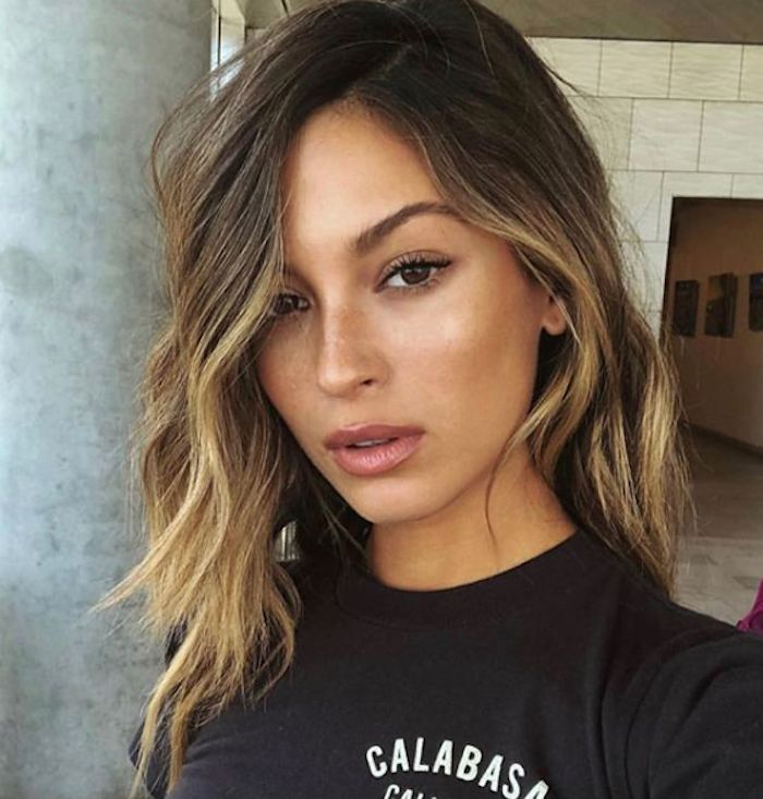 Brown ombré is the lived-in color hair color we're craving this summer. Cli...