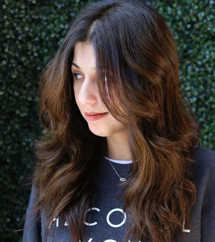 Even if you have dark hair, summer calls for lighter strands. Click here to see ...