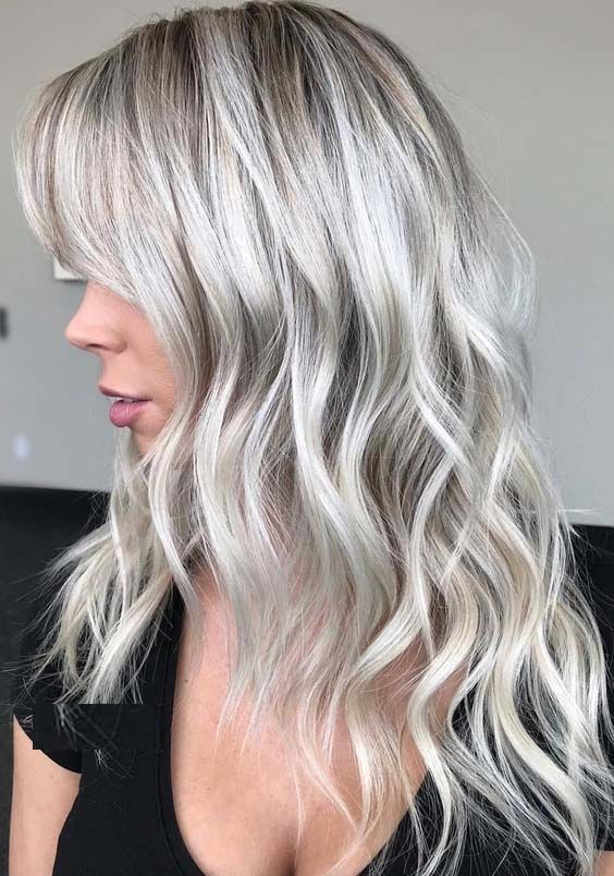 31 Famous Platinum White Blonde Hair Color Shades for 2018. Try these amazing sh...