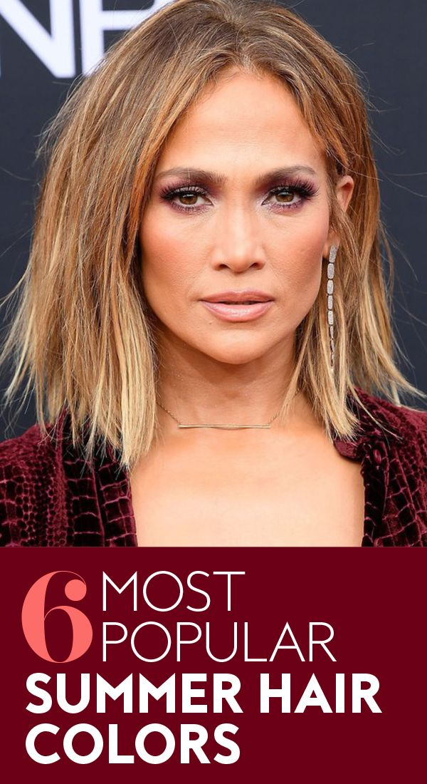 5 gorgeous options to bring to the salon. #haircolor #2018haircolors #summerhair...