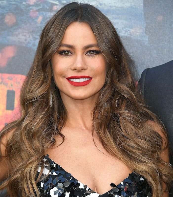 Brown hair with blonde highlights is Hollywood's favorite hair color combo. ...