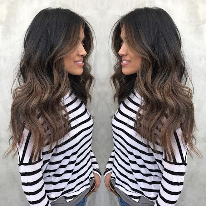 Best Hairstyles For 2017 2018 Dark Ombre Hair Color Flashmode