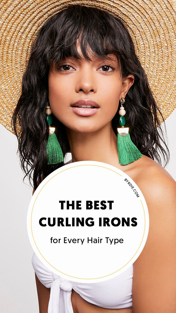 The best curling irons for every hair type