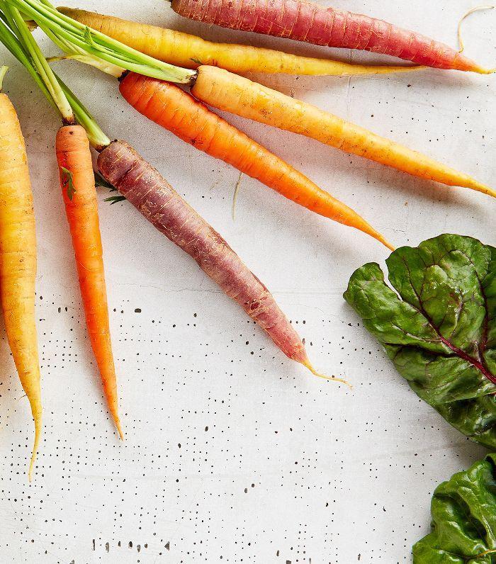 foods for longer hair: carrots