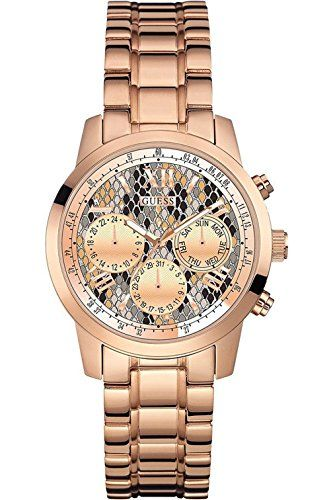 GUESS W0448L9,Ladies Rose Gold Tone,Multi-Function,Stainless Steel Case,50m WR *...