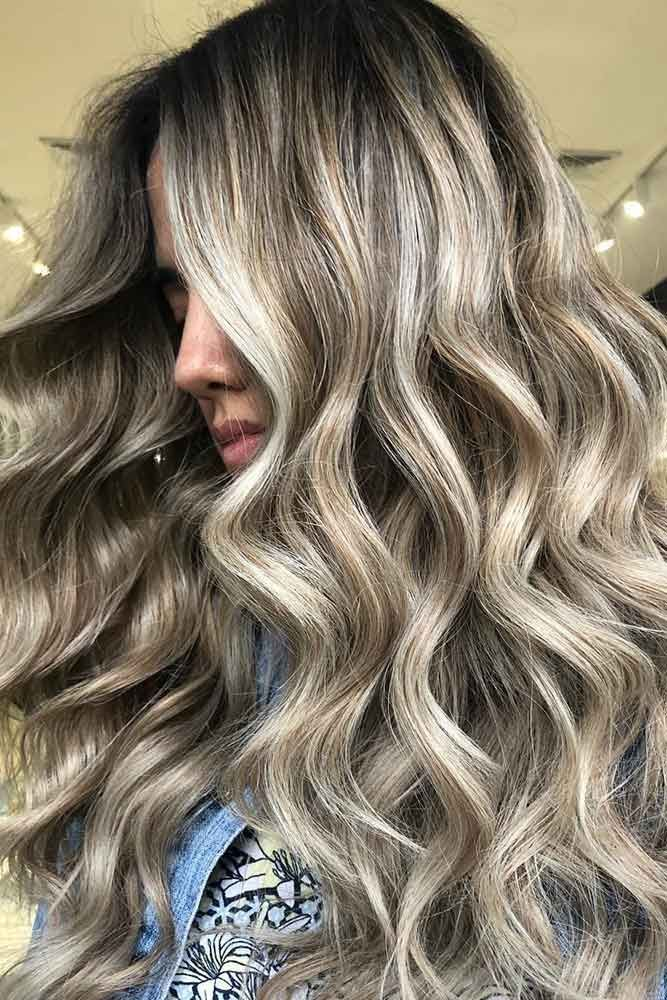 Ash Blonde Balayage Highlights #blondehair balayage #highlights ❤️ Ash blond...