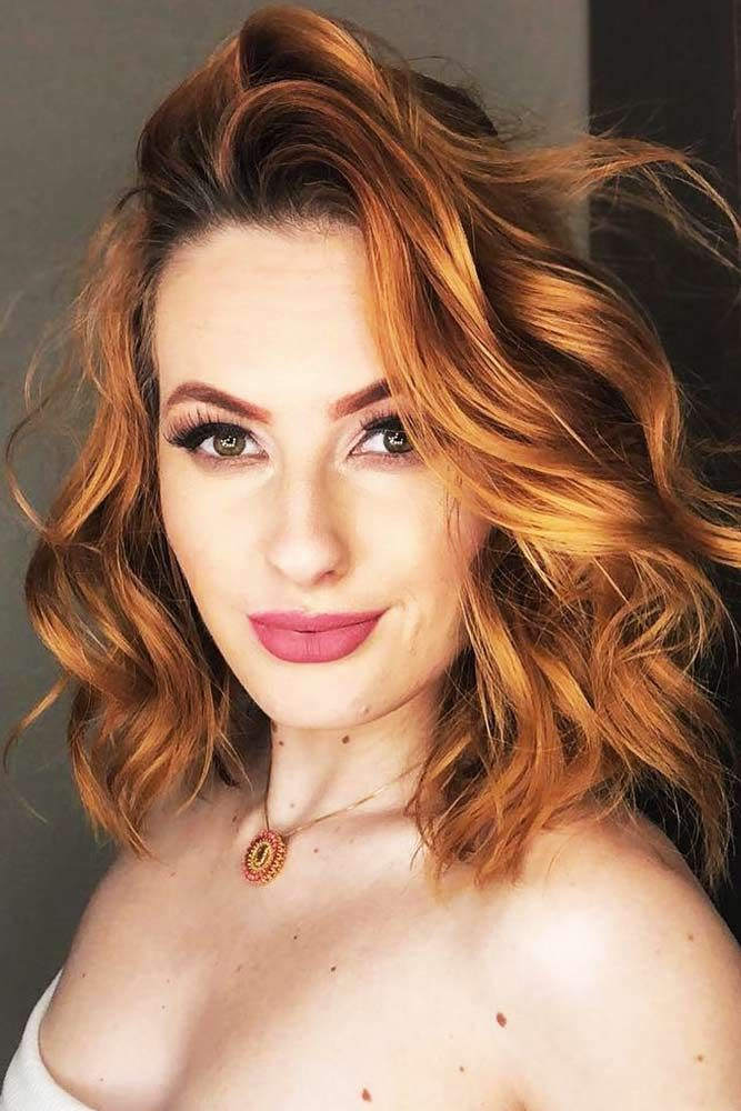 Hair Color 2017 2018 Classic Bright Copper Red Hair Redhair Bob
