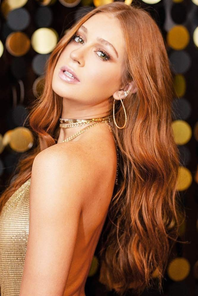 Hair Color 2017 2018 Copper Hair With Orange Undertone Redhair