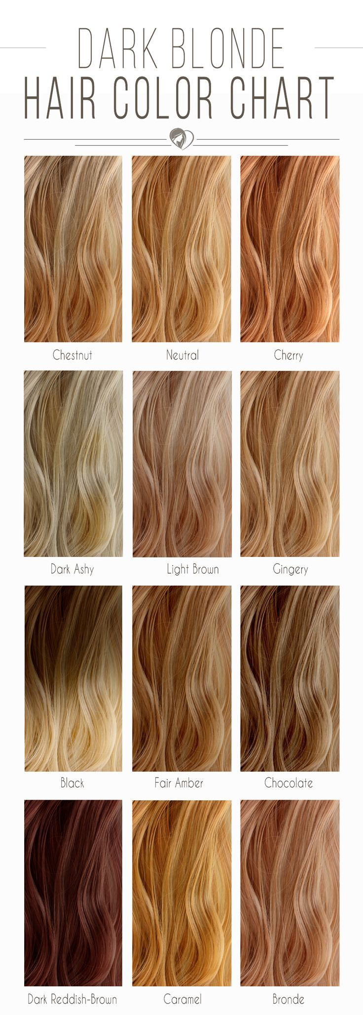Hair Color 2017 2018 Dark Blonde Hair Color Chart Blondehair