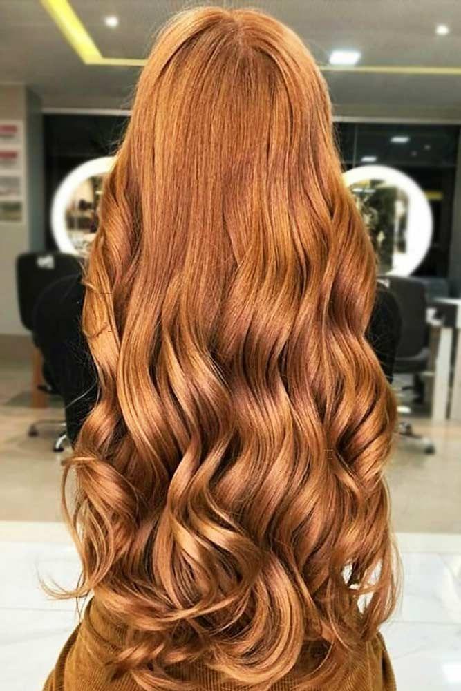 Deep Ginger Copper #redhair #longhair #wavyhair ❤️ A dark, light, ombre or b...