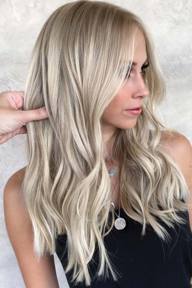 Tips On Dying Your Hair Blonde Light #blondehair #highlights ❤️ Ash blonde h...