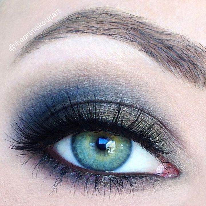 8 Gorgeous Smokey Eye Makeup Ideas #Eyemakeuptips