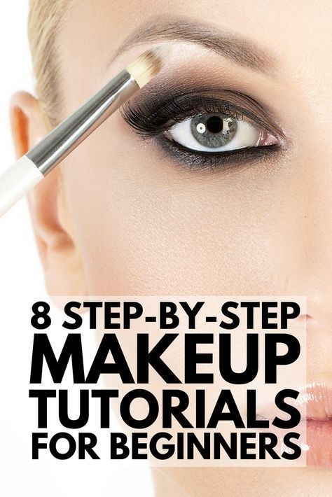 8 step-by-step makeup tutorials for beginners to teach you the basics of applyin...
