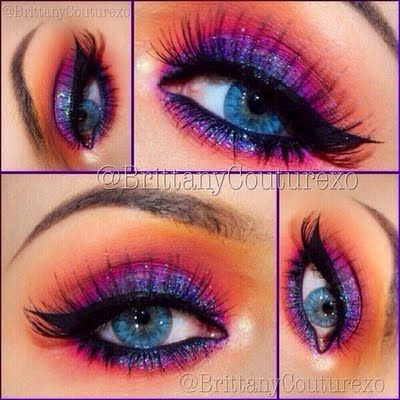 Be Sparkle – Trendy New Year's Makeup