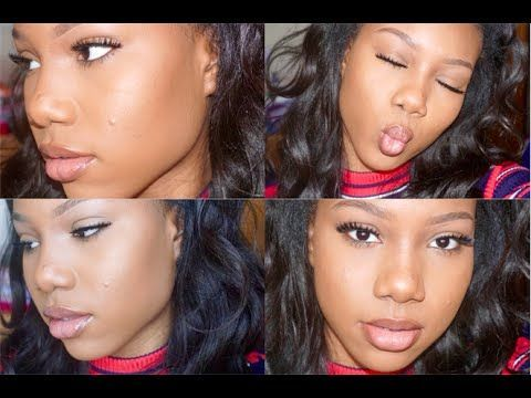 Beginner Darkskin Makeup Tutorial for Teens 2016 | Acne Scars - YouTube