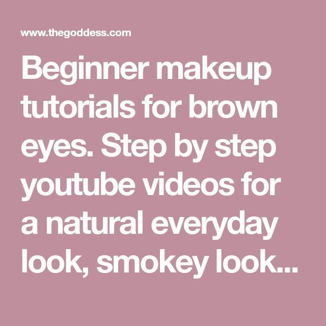 Best Ideas For Makeup Tutorials    Picture    Description  Beginner makeup tutor...
