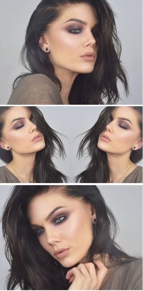 Best Ideas For Makeup Tutorials    Picture    Description  plum … videotutoria...