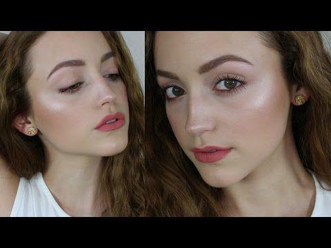 Fresh & Very Glowy Skin | Talk Through Makeup Tutorial - YouTube