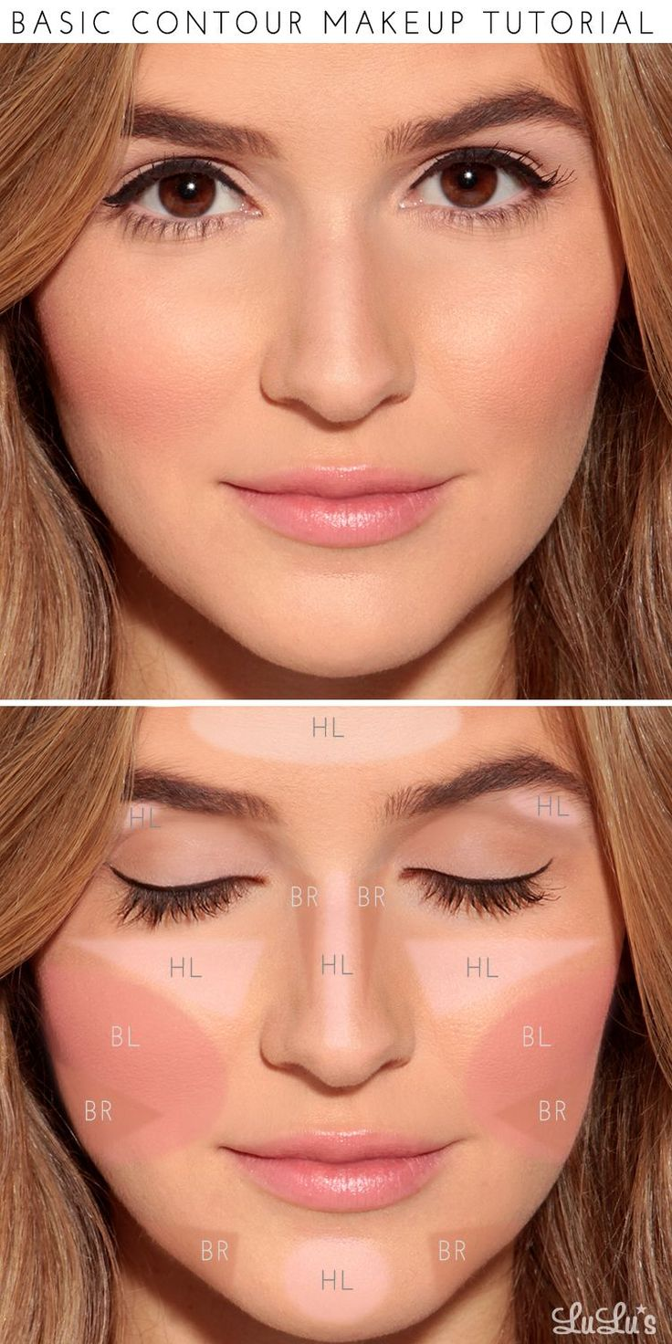 How-To: Basic Contour Makeup Tutorial. This is the first