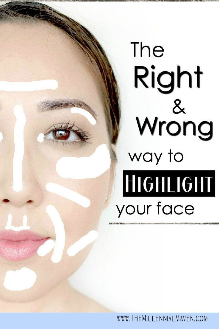 How to Highlight Your Face the RIGHT Way (+ the wrong way)