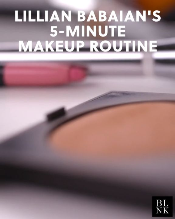 Lillian Babaian's 5-Minute Makeup Routine #blinkbeauty #beautytutorial #makeuptu...