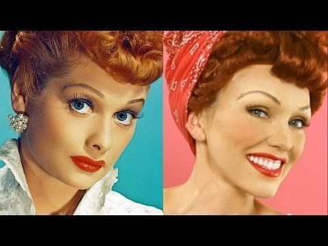 Lucille Ball ( I love Lucy) Makeup Tutorial