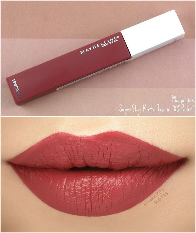 Maybelline | SuperStay Matte Ink Un-Nudes Collection: Review and Swatches | The ...