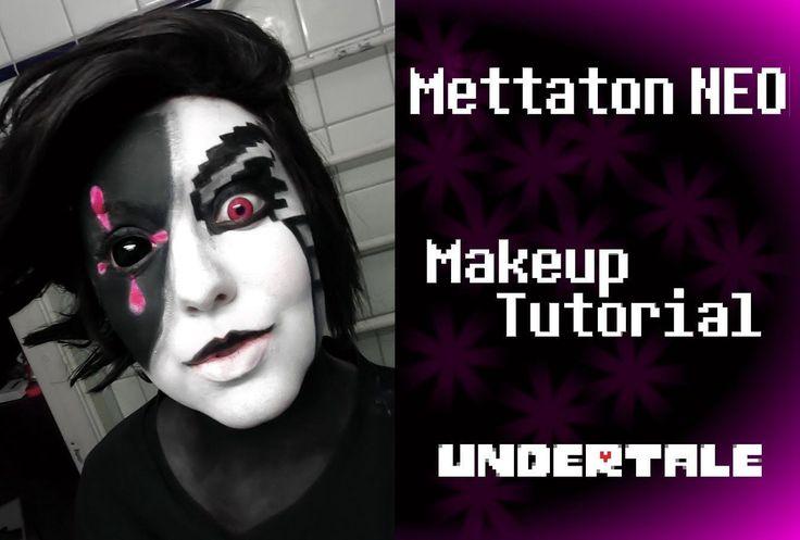 Mettaton NEO (Undertale) - Makeup Tutorial